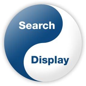 search vs display
