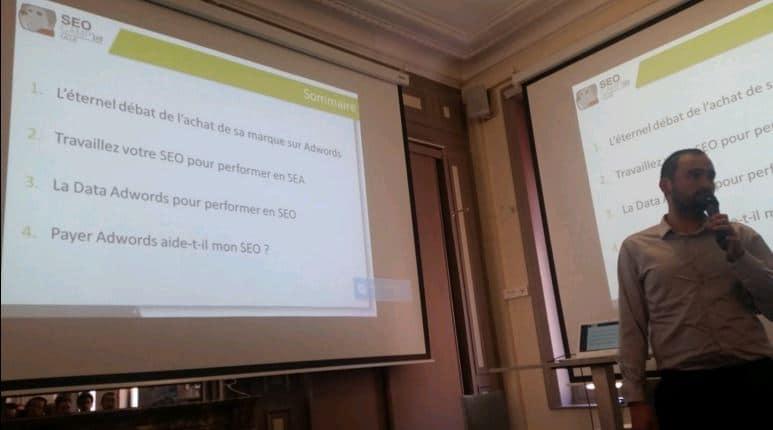 SEOCamp Lille 2016 - Synergies SEO-SEA