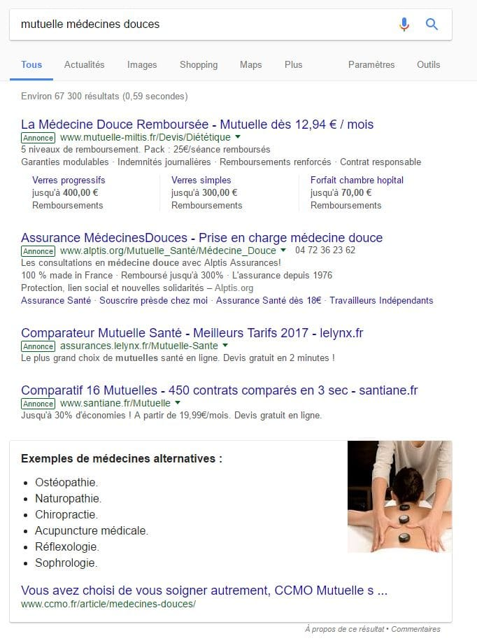 mutuelle médecine douce