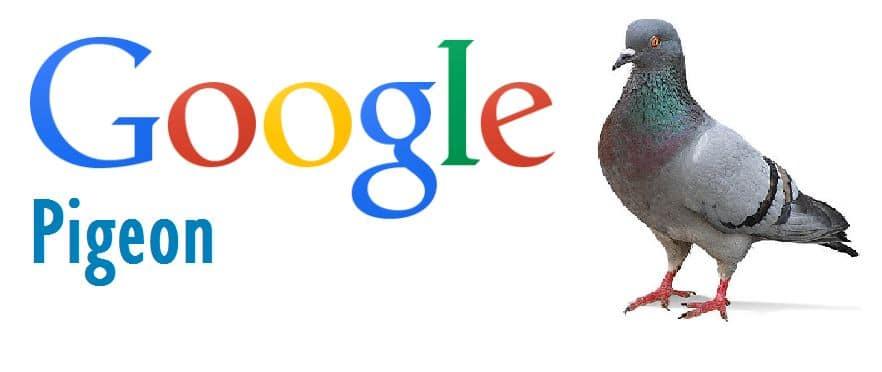 Google Pigeon - Mise à jour de l'algorithme SEO