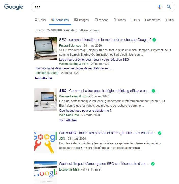 Google News SEO