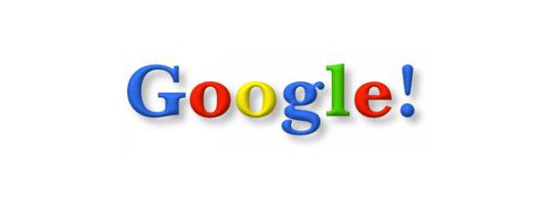 Logo Google en 1998